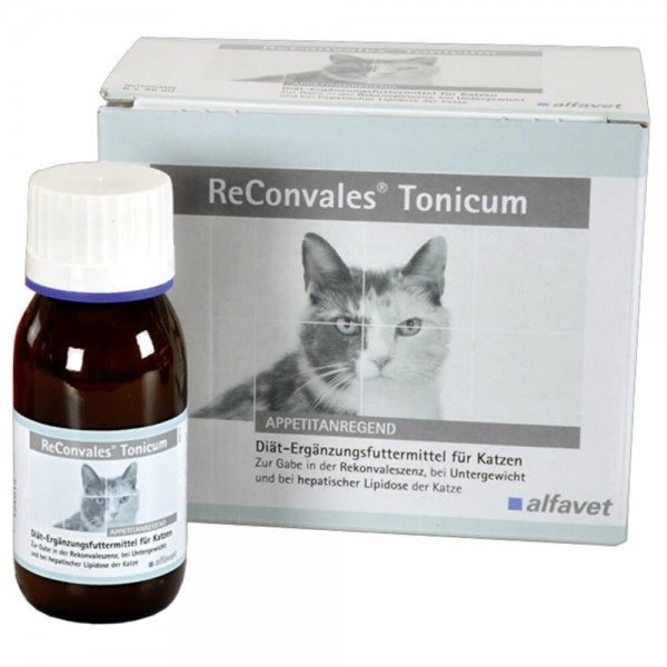 ReConvales Tonicum für Katzen 6 x 45 ml
