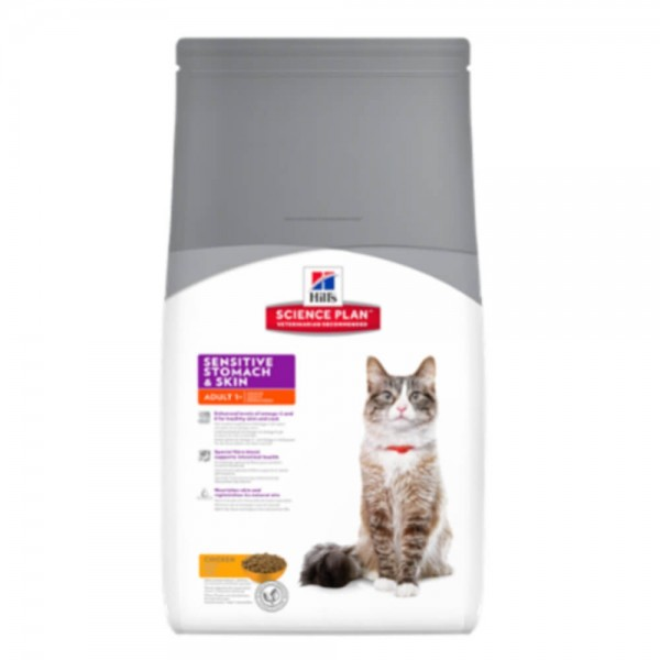 Hills Feline Adult Sensitive Stomach Skin