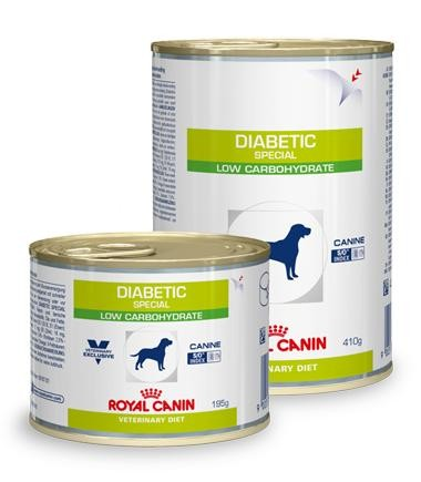 Royal Canin Hund Diabetic special low 12x195g