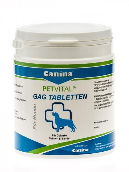 Canina Petvital GAG Tabletten