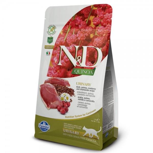 Farmina ND Cat Getreidefrei Adult Quinoa Urinary