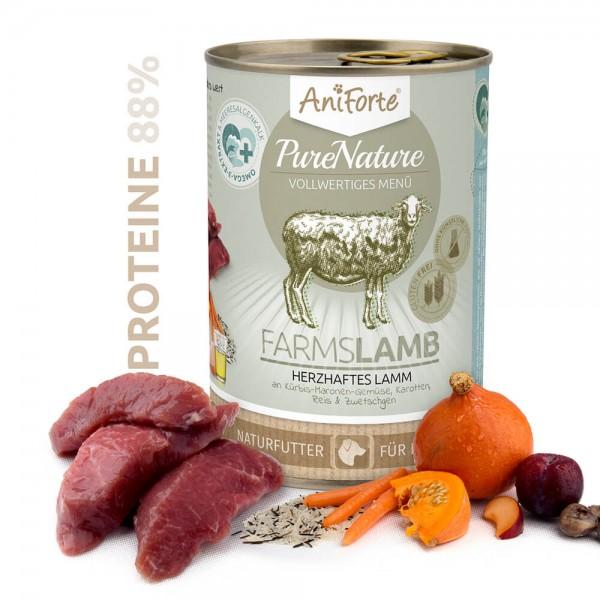 AniForte Pure Nature Farms Lamb Nassnahrung