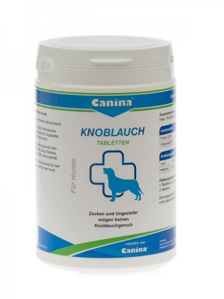 Canina Knoblauch Tabletten