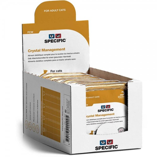 Specific FCW Crystal Management 7x100g