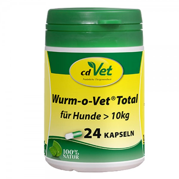 cdVet Wurm-o-Vet Total Hund über 10 kg