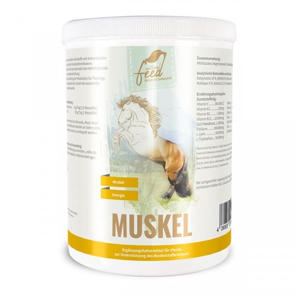 Natural Feed Muskel 1000g