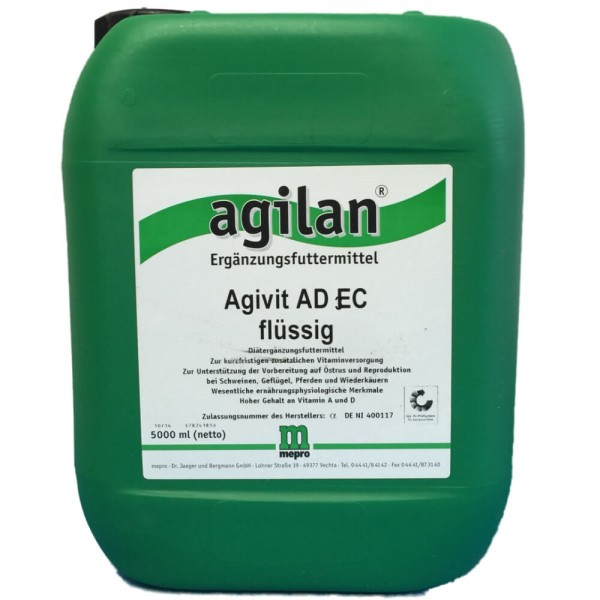 agilan Agivit AD3EC flüssig 5000ml
