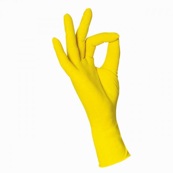 WDT Nitril-Untersuchungshandschuhe 100 gelb L