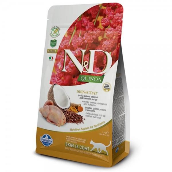 Farmina ND Cat Getreidefrei Adult Quinoa Skin Coat
