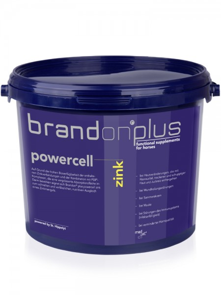 Brandon plus Powercell Zink