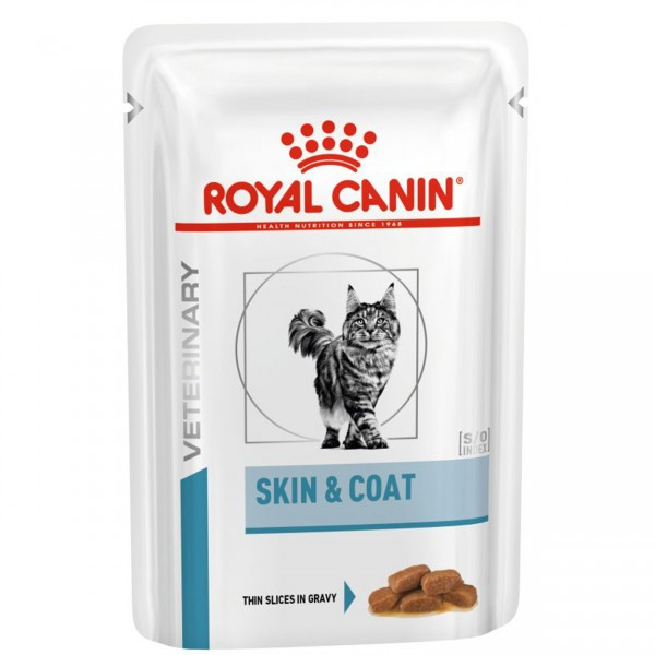 Royal canin Katze Skin Coat 48x85g