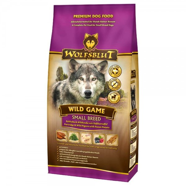 Wolfsblut Wild Game small breed 15kg