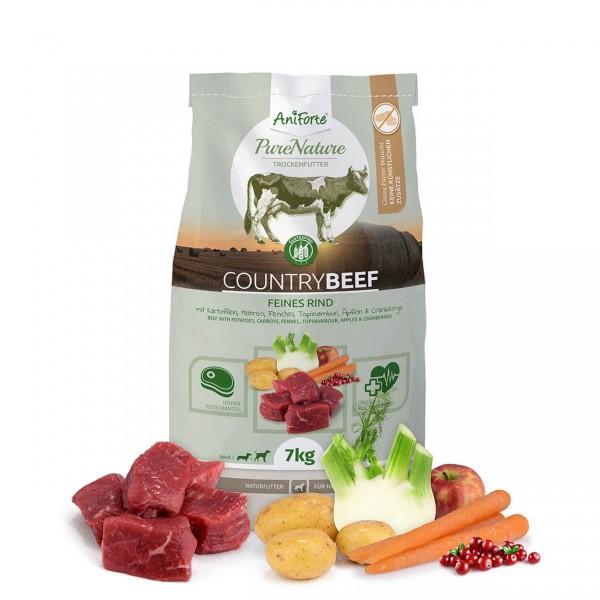 AniForte Pure Nature Country Beef Trocken Rind Kartoffel