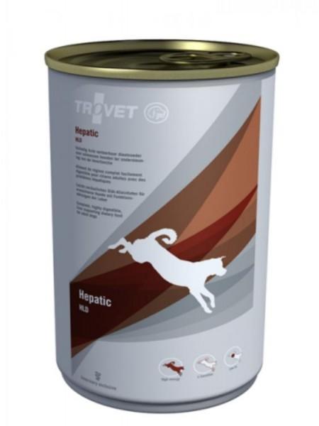 Trovet Hepatic HLD Hund 6x400g