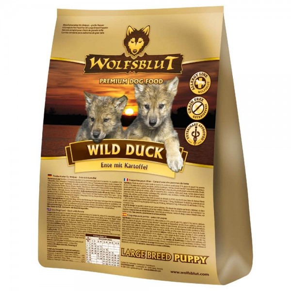 Wolfsblut Wild Duck puppy large breed