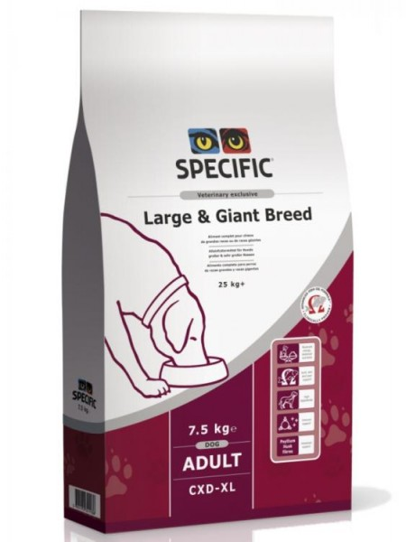 Specific CXD-XL adult large giant breed