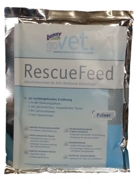bunny goVet RescueFeed